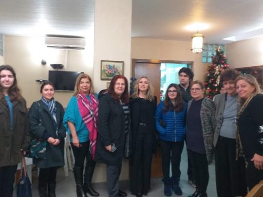 Պուլղուրճեան ընտանիքի այցելութիւն
